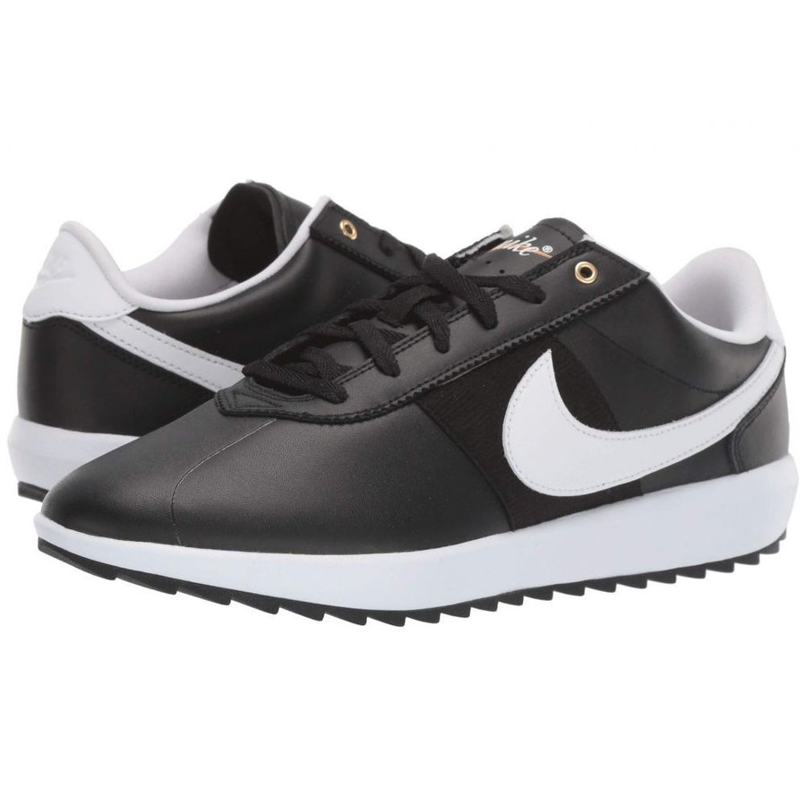 ナイキ Nike Golf レディース シューズ・靴 ゴルフ Cortez G 黒/白い/Metallic ゴールド