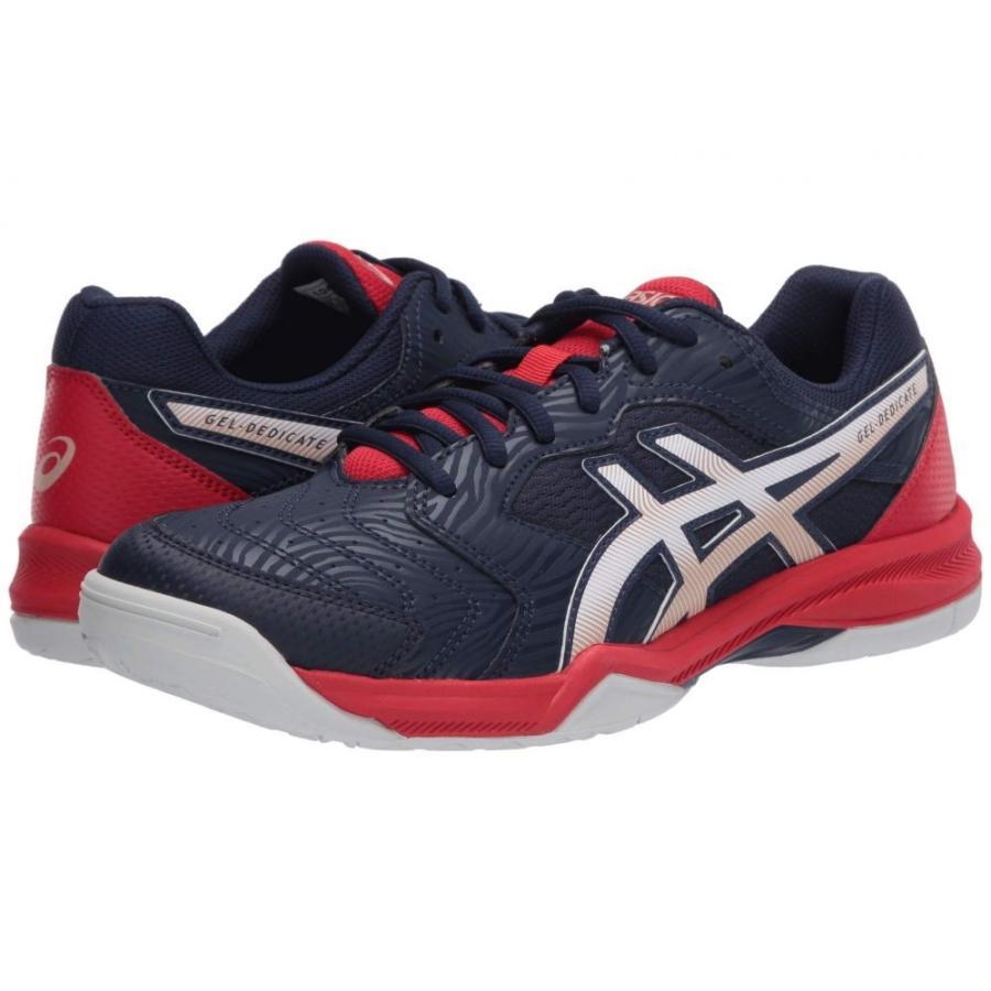 【感謝価格】 アシックス アシックス ASICS メンズ テニス シューズ・靴 GEL-Dedicate 6 シューズ・靴 Peacoat テニス/White, 文具こーたろー:7dda976a --- photoboon-com.access.secure-ssl-servers.biz