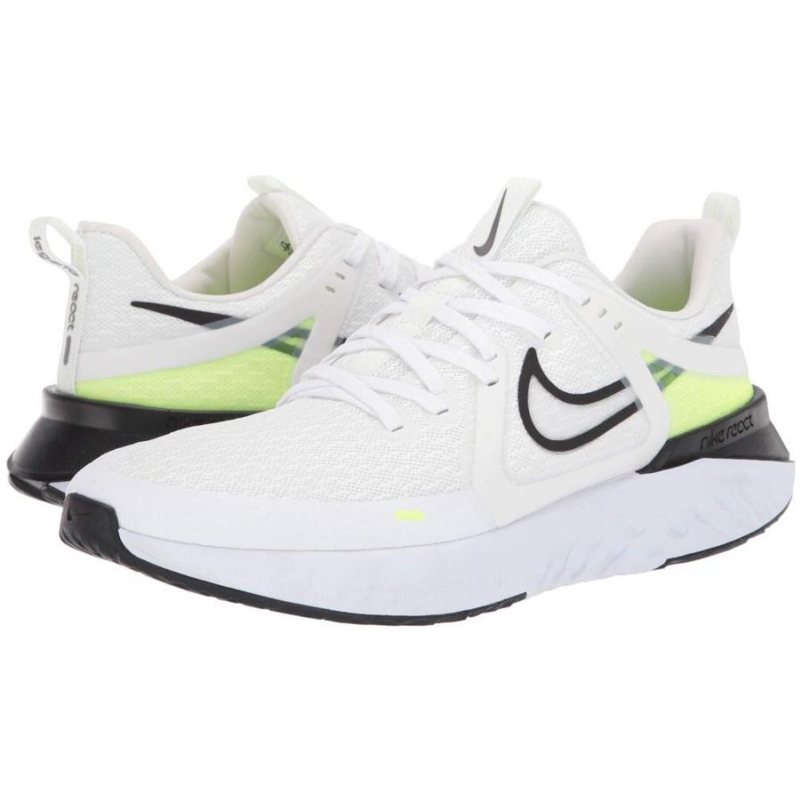 ナイキ Nike メンズ シューズ・靴 ランニング・ウォーキング Legend React 2 白い/黒/Electric 緑/Vapor 緑