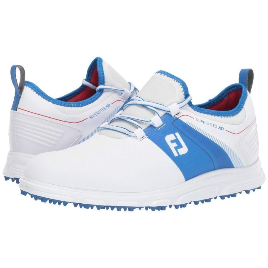 フットジョイ FootJoy メンズ シューズ・靴 ゴルフ Superlites XP Spikeless 白い/赤/青
