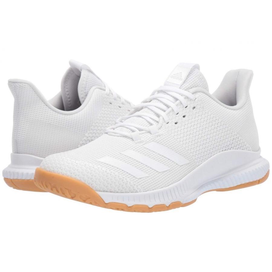 アディダス adidas レディース シューズ・靴 バレーボール Crazyflight Bounce 3 Footwear 白い/Footwear 白い/Gum M