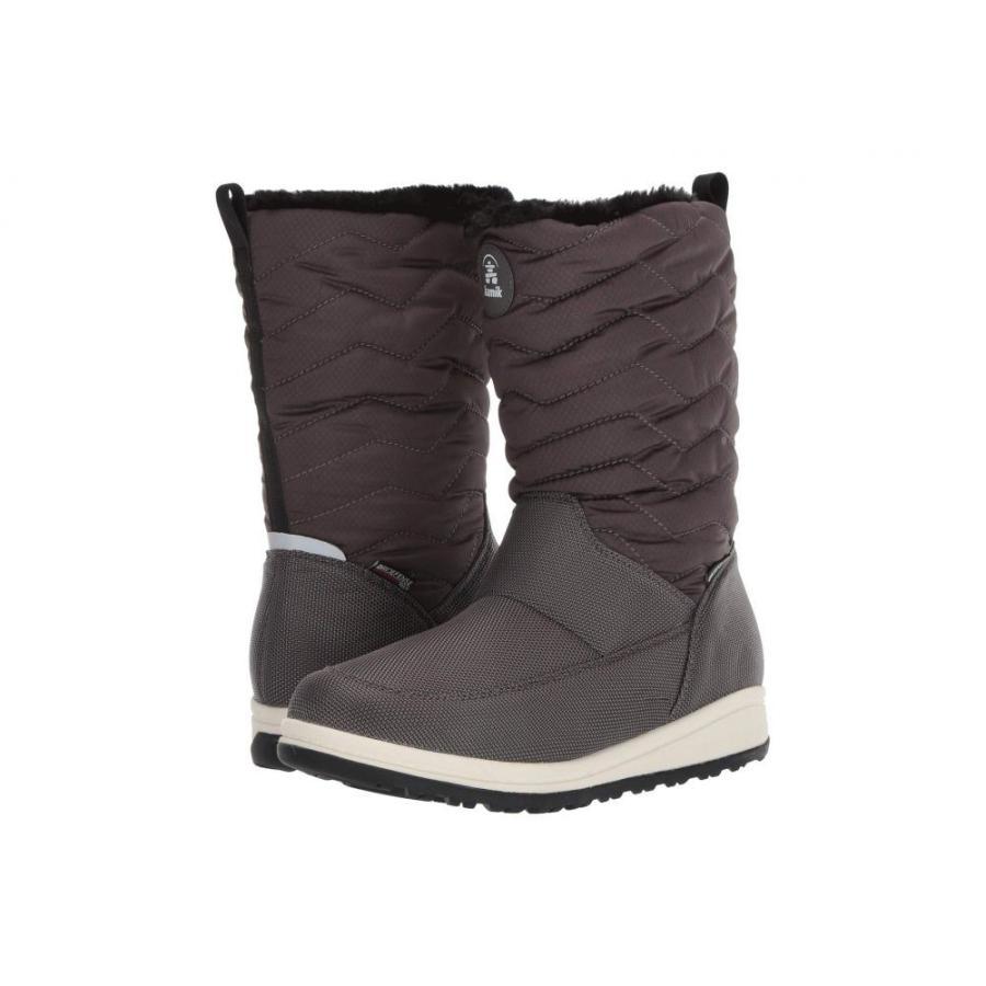 カミック Kamik レディース スキー・スノーボード シューズ・靴 Chrissy Zip Charcoal