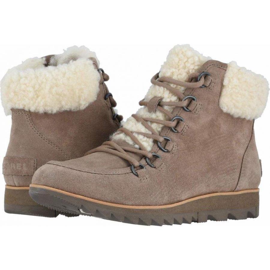 ソレル SOREL レディース スキー・スノーボード シューズ・靴 Harlow(TM) Lace Cozy Ash 褐色