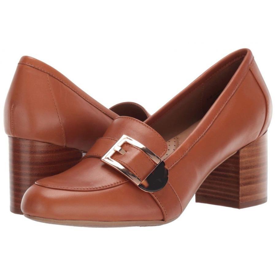 2019人気特価 エアロソールズ Aerosoles レディース ローファー・オックスフォード シューズ・靴 Pattern Work Dark Tan Leather, SOAR(そあ)ショップ b0e4cb45