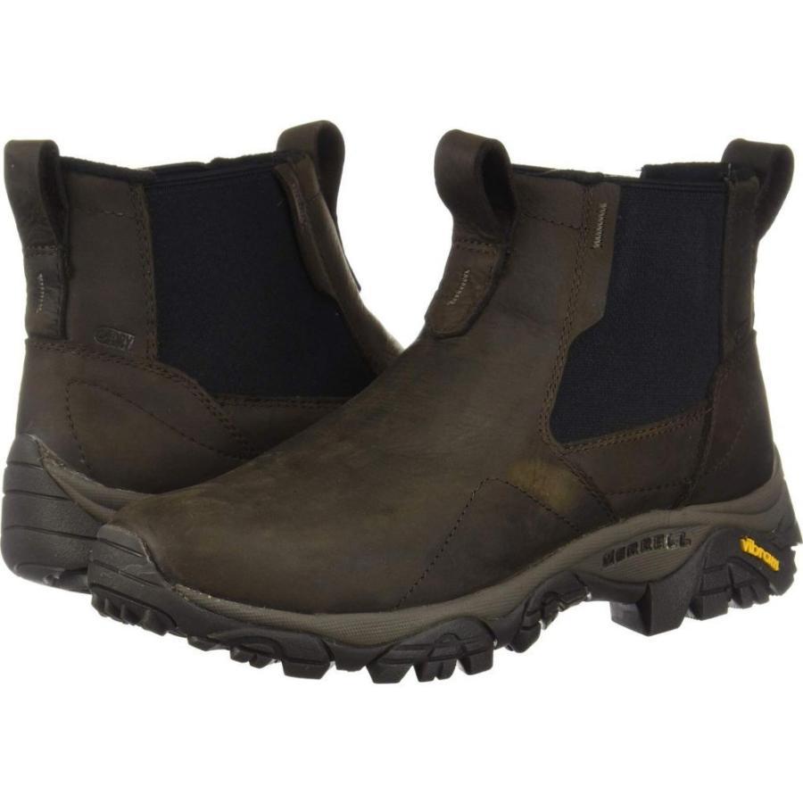 メレル Merrell メンズ スキー・スノーボード シューズ・靴 Moab Adventure Chelsea Polar Waterproof 褐色