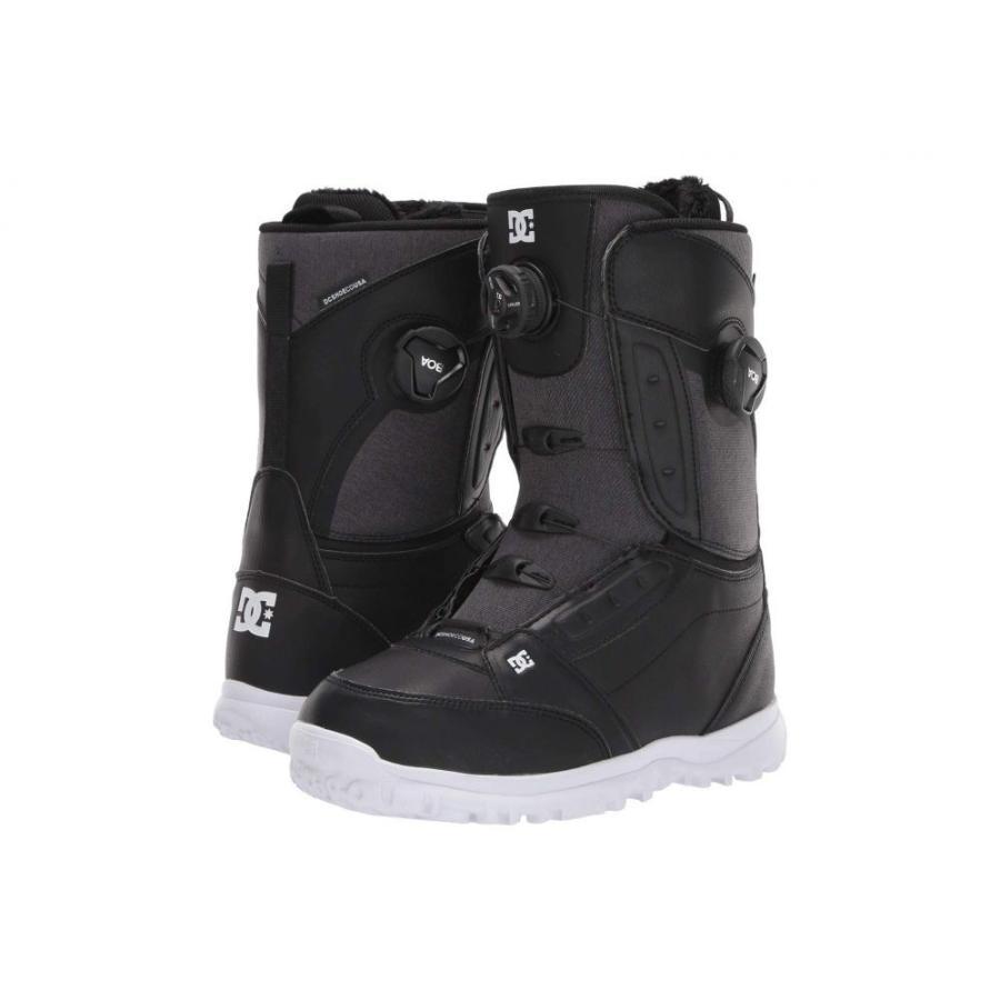 ディーシー DC レディース スキー・スノーボード ブーツ シューズ・靴 Lotus Boa Snowboard Boots 黒