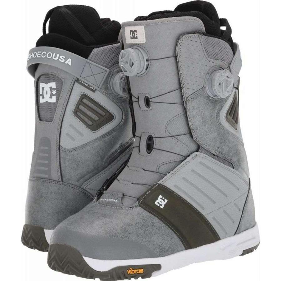 【海外 正規品】 ディーシー DC メンズ スキー・スノーボード ブーツ シューズ・靴 Judge Dual BOA Snowboard Boots Grey, あかりとり窓 acba490c