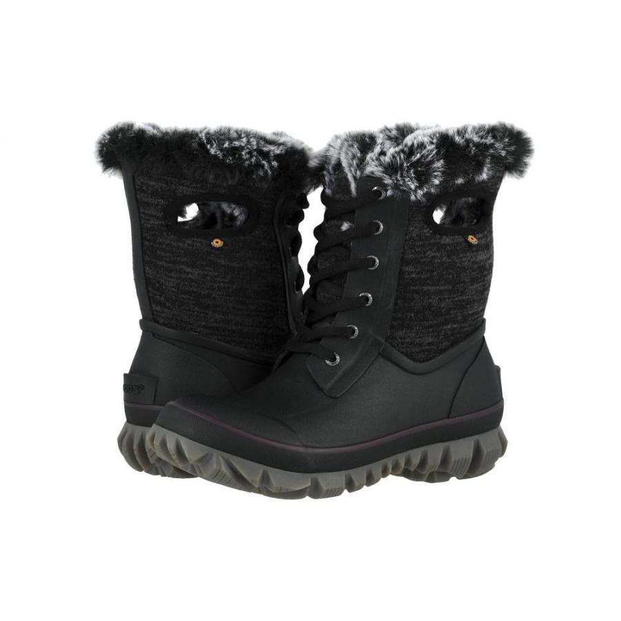 ボグス Bogs レディース スキー・スノーボード シューズ・靴 Arcata Knit 黒 Multi