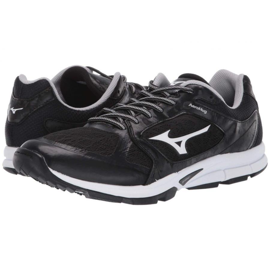 ミズノ Mizuno メンズ 野球 スニーカー シューズ・靴 utility trainer 黒/白い