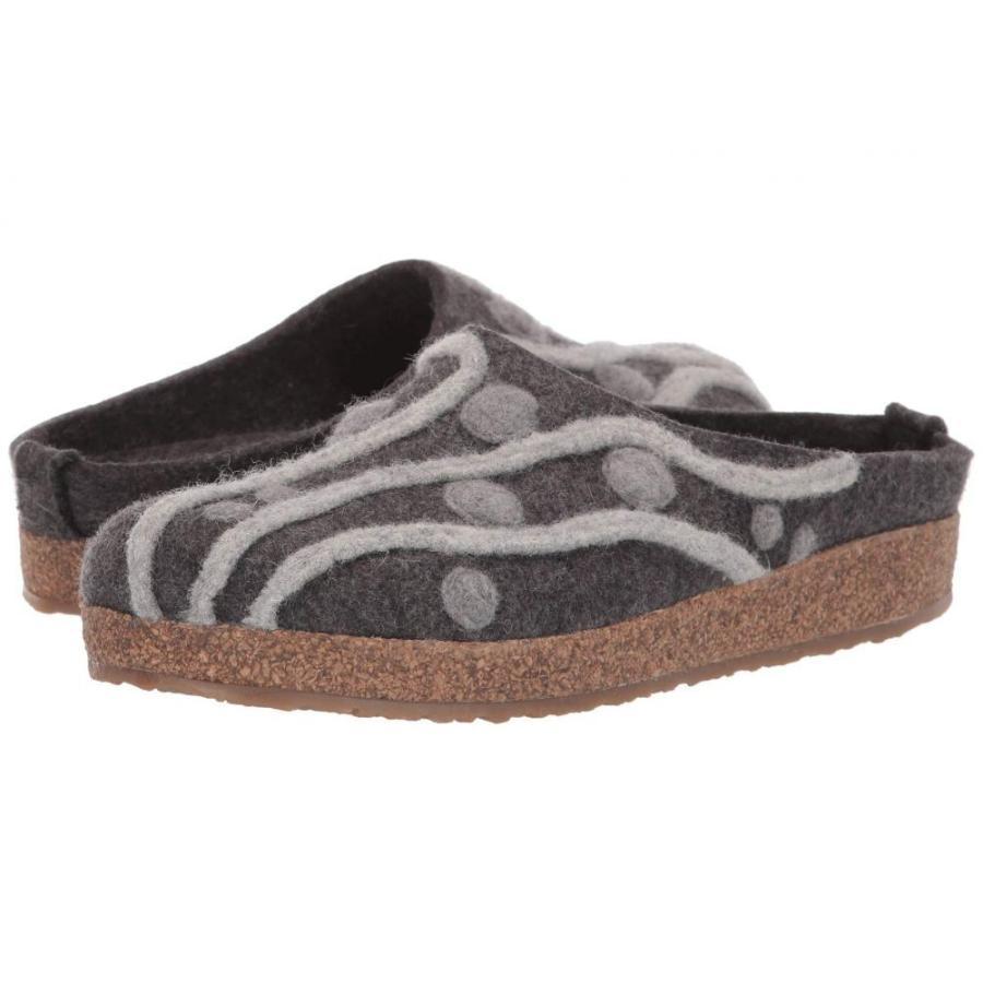 【お買得】 ハフリンガー Haflinger レディース スリッパ シューズ・靴 Helena Grey, スピードコンタクト 6b75f015