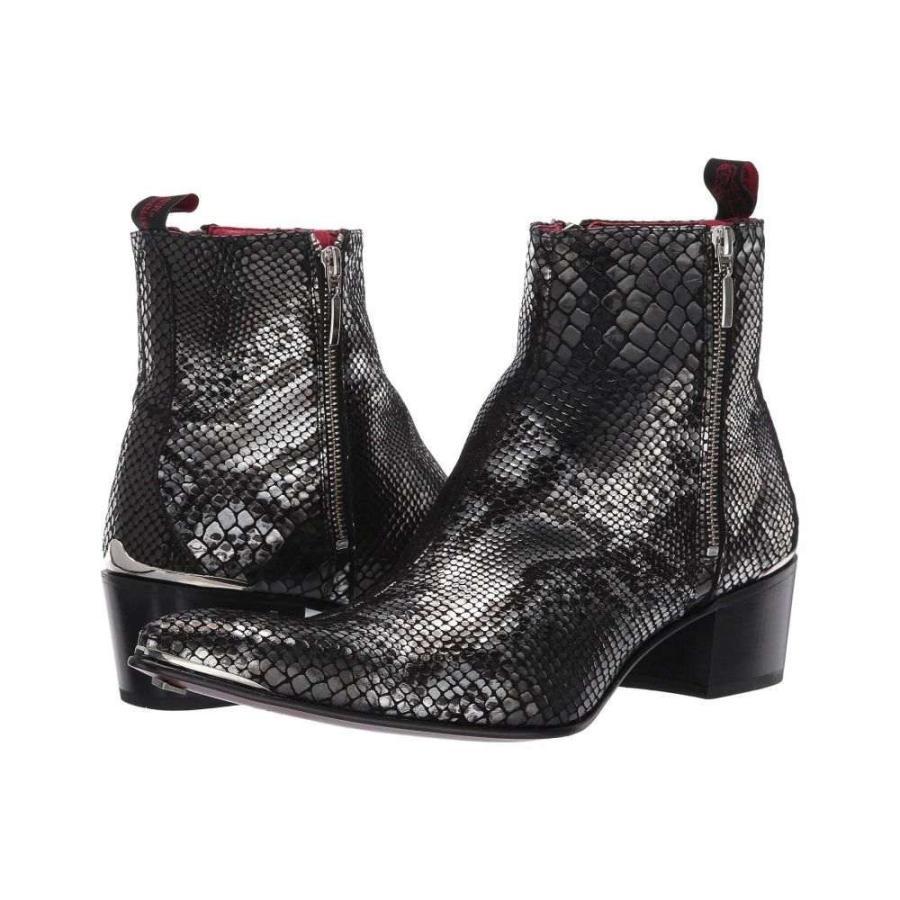新作商品 ジェフリー ウエスト Jeffery-West Zip メンズ ブーツ ウエスト シューズ・靴 Snake Sylvian Double Zip Boot Black Snake, 西国東郡:7d2736c5 --- levelprosales.com