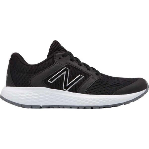 ニューバランス New Balance レディース シューズ・靴 ランニング・ウォーキング 520v5 Running Shoe 黒/白い
