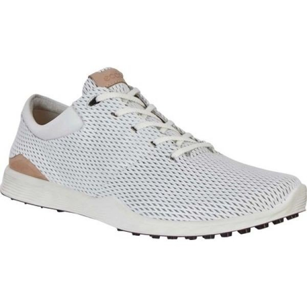 エコー ECCO メンズ ゴルフ スニーカー シューズ・靴 Golf S Lite Sneaker 白い