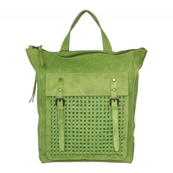 ニノボッシー Nino Bossi レディース バックパック・リュック バッグ Elaina Backpack 緑