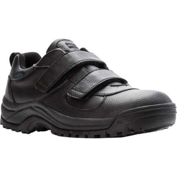 プロペット メンズ シューズ・靴 ランニング・ウォーキング Cliff Walker Low Strap Walking Shoe 黒 Full Grain Leather