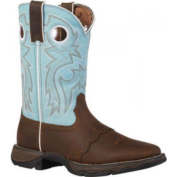 激安通販新作 デュランゴ Durango Boot レディース シューズ・靴 ブーツ RD3471 10 Flirt Brown/Light Blue, 昭和32年創業の老舗 クロサワ楽器 7426e3c7