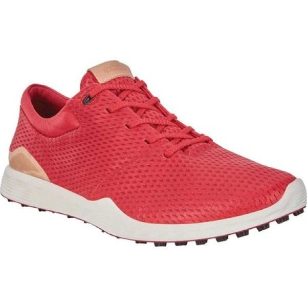 エコー ECCO レディース シューズ・靴 ゴルフ Golf S Lite Sneaker Tomato Leather