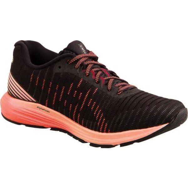 アシックス ASICS レディース シューズ・靴 ランニング・ウォーキング DynaFlyte 3 Running Shoe 黒/Flash Coral