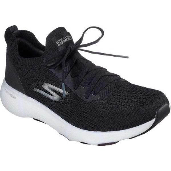 スケッチャーズ Skechers メンズ ランニング・ウォーキング スニーカー シューズ・靴 GOwalk Hyper Pace Sneaker 黒/白い