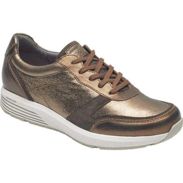ロックポート Rockport レディース シューズ・靴 ランニング・ウォーキング Trustride Walking LTD Sneaker Metallic Leather