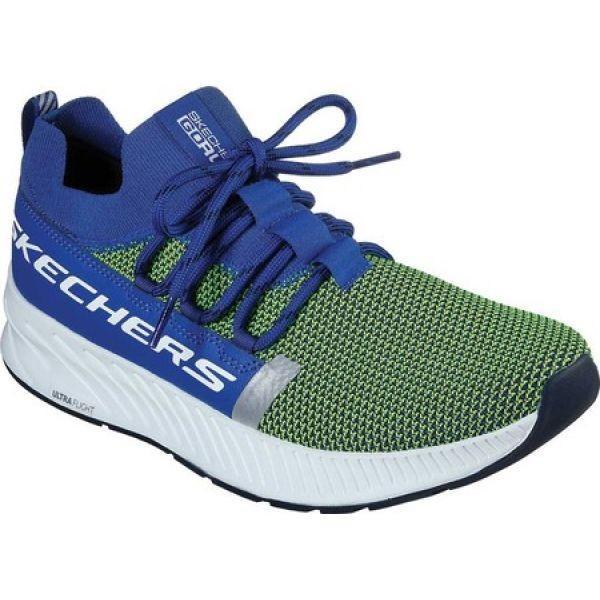スケッチャーズ Skechers メンズ ランニング・ウォーキング シューズ・靴 GOrun Balance Anchor Running Shoe 青/Lime