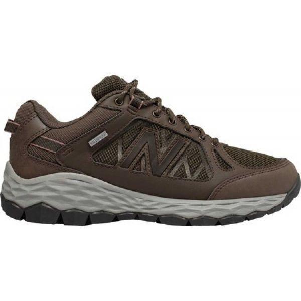ニューバランス レディース シューズ・靴 ハイキング・登山 1350W1 Hiking Shoe Chocolate Brown/Team Away Grey