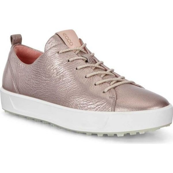 エコー ECCO レディース ゴルフ ローカット スニーカー シューズ・靴 Golf Soft Low HYDROMAX Sneaker Warm Grey Tumbled Leather