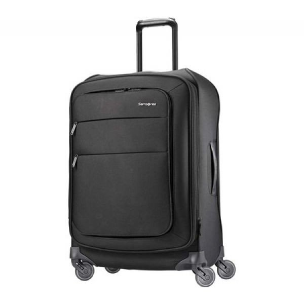 7fca8cac0d サムソナイト Samsonite メンズ スーツケース·キャリーバッグ バッグ Flexis 25' Expandable Spinner Jet  Black