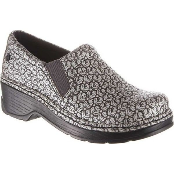 クロッグス Klogs レディース クロッグ シューズ・靴 Naples Clog 銀 Milli Leather