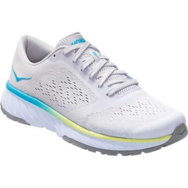 ホカ オネオネ Hoka One One レディース シューズ・靴 ランニング・ウォーキング Cavu 2 Running Sneaker 白い/Nimbus Cloud Mesh
