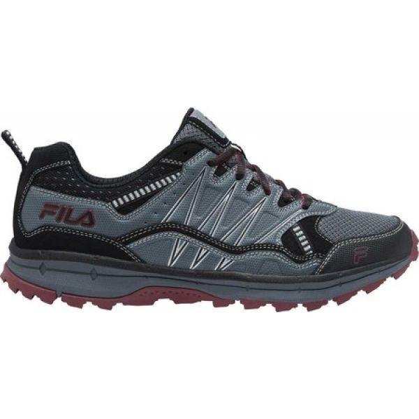 フィラ Fila メンズ シューズ・靴 ランニング・ウォーキング Evergrand TR Trail Running Shoe Castlerock/黒/Tawny Port