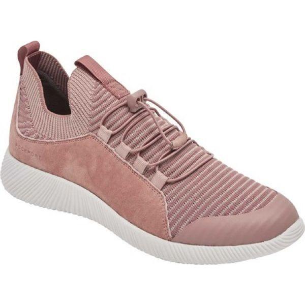 ロックポート Rockport レディース ランニング・ウォーキング スニーカー シューズ・靴 City Lites Robyne Knit Bungee Sneaker Dark Rose Bungee
