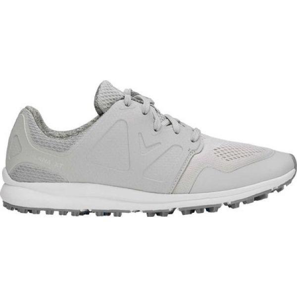 正式的 キャロウェイ Callaway レディース ゴルフ シューズ・靴 Solana XT Golf Shoe Light Grey Performance Mesh, 川上郡 ffe0688c