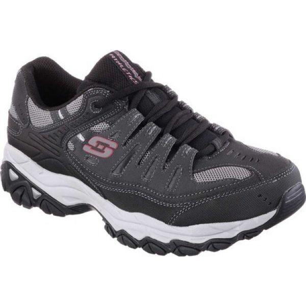 人気商品 スケッチャーズ Skechers メンズ フィットネス・トレーニング シューズ・靴 After Burn Memory Fit Cross Training Shoe Gray/Black, 日田市 8143312c