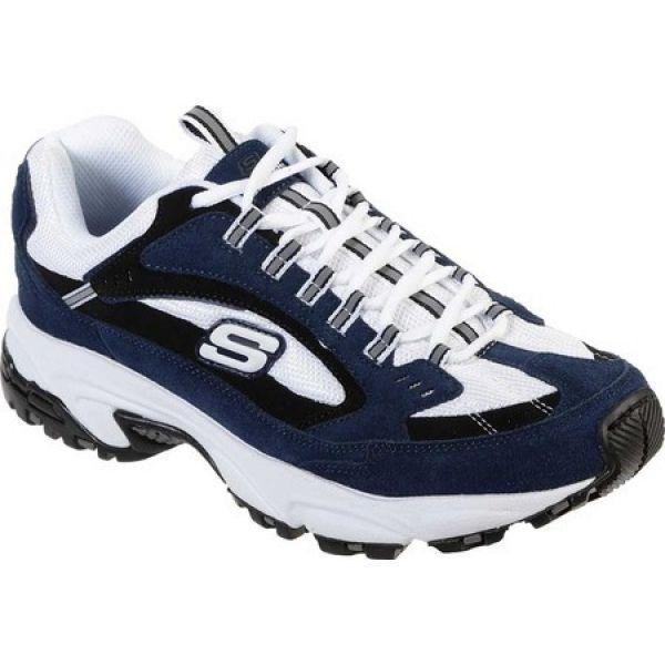 100%安い スケッチャーズ メンズ Skechers メンズ フィットネス スケッチャーズ・トレーニング シューズ・靴 Stamina Skechers Cutback Training Shoe Navy/White, 見てね価格BAMBOO:f20cd869 --- airmodconsu.dominiotemporario.com