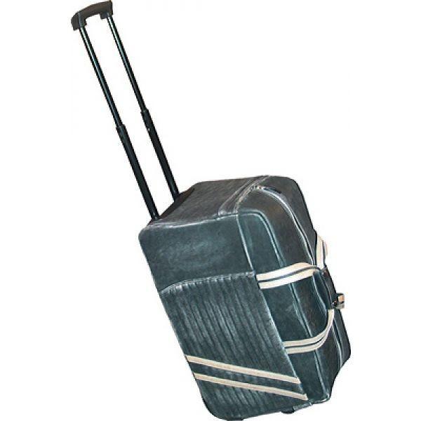 スカーリー Scully メンズ スーツケース・キャリーバッグ バッグ Wheeled Travel Bag Calf 121 Black