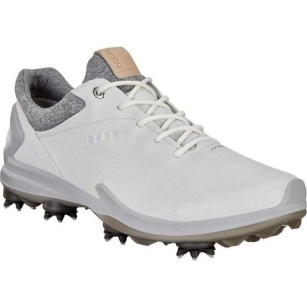 エコー ECCO メンズ シューズ・靴 ゴルフ Golf BIOM G3 GORE-TEX Sneaker Shadow 白い Leather