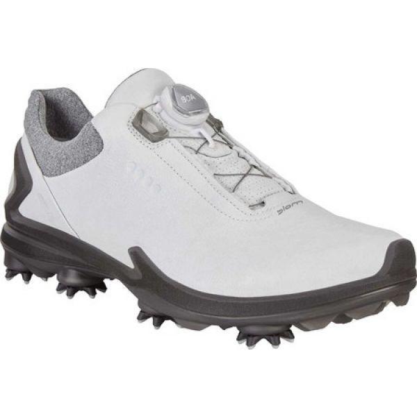 エコー ECCO メンズ シューズ・靴 ゴルフ Golf BIOM G3 Boa GORE-TEX Sneaker Shadow White Leather
