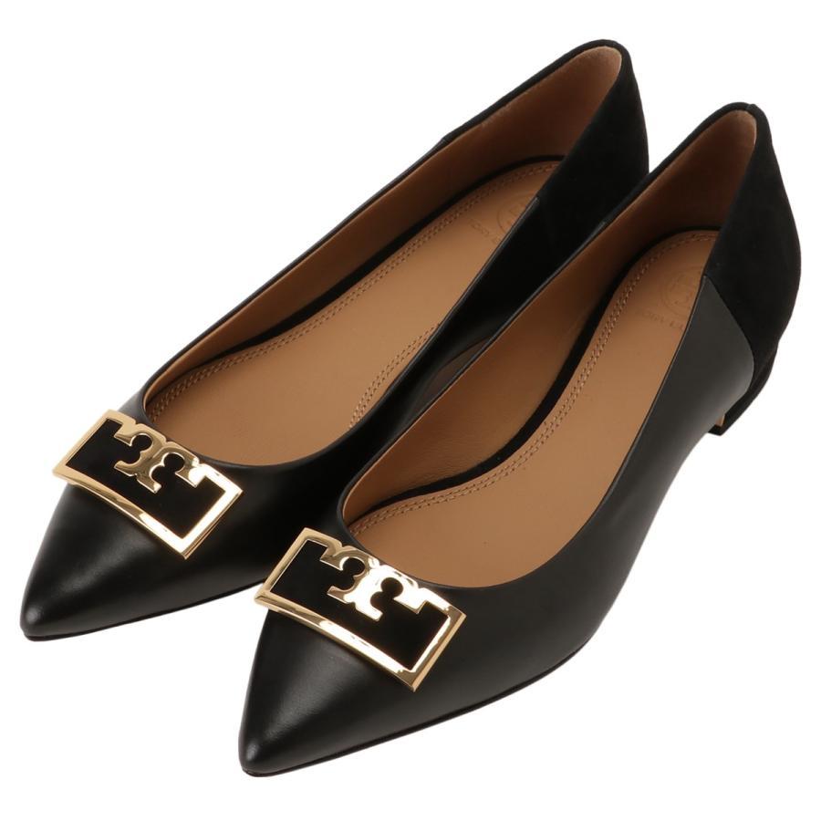 【即納】トリー バーチ Tory Burch レディース パンプス シューズ・靴 Gigi 20Mm Pointy Toe Flat 60316 Perfect Black ポインテッドトゥ フラット|fermart-shoes