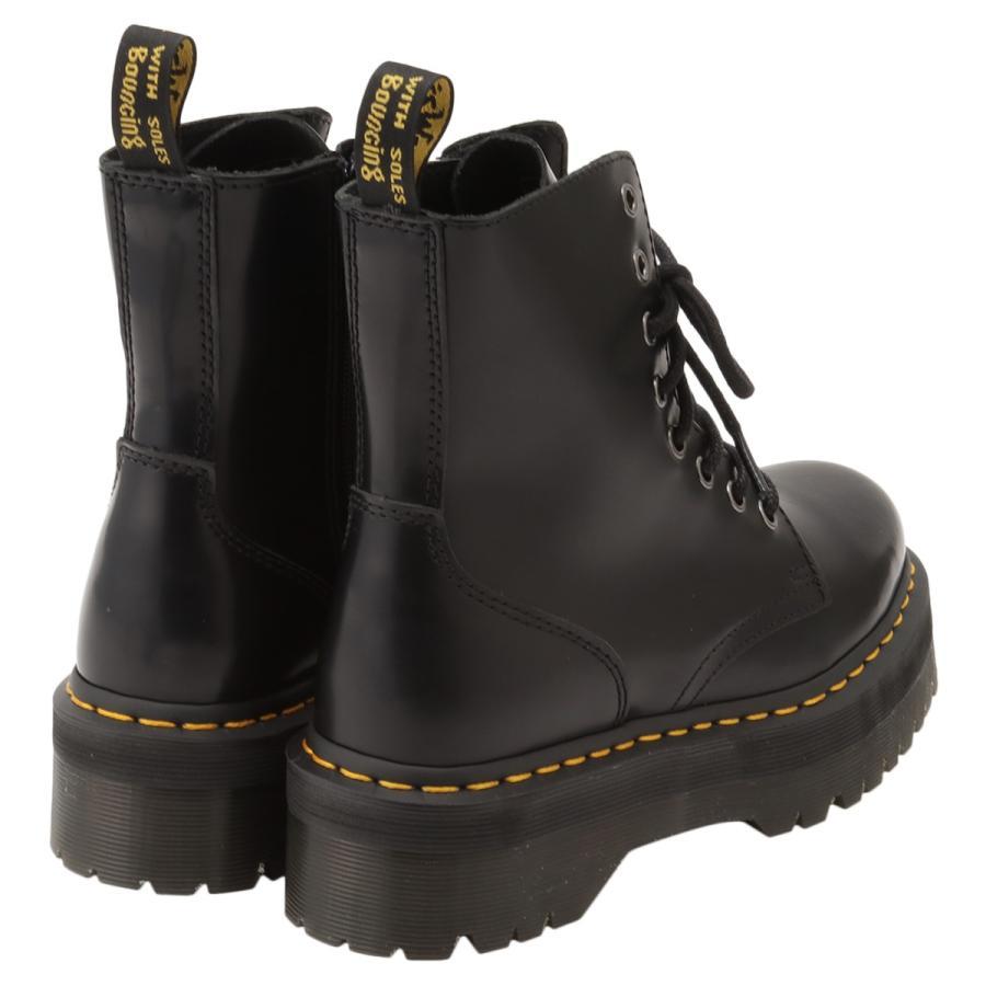【即納】ドクターマーチン Dr. Martens レディース ブーツ シューズ・靴 Jadon 8 Eye Boots BLACK サイドジップ コンバットブーツ 8ホール|fermart-shoes|02