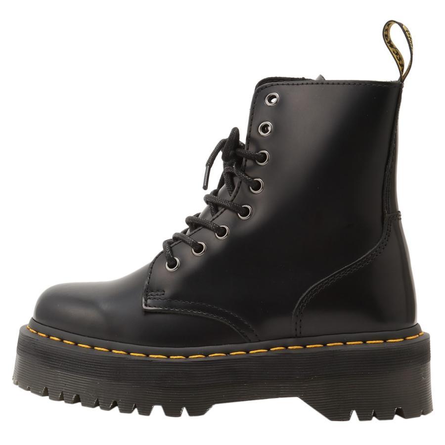 【即納】ドクターマーチン Dr. Martens レディース ブーツ シューズ・靴 Jadon 8 Eye Boots BLACK サイドジップ コンバットブーツ 8ホール|fermart-shoes|03