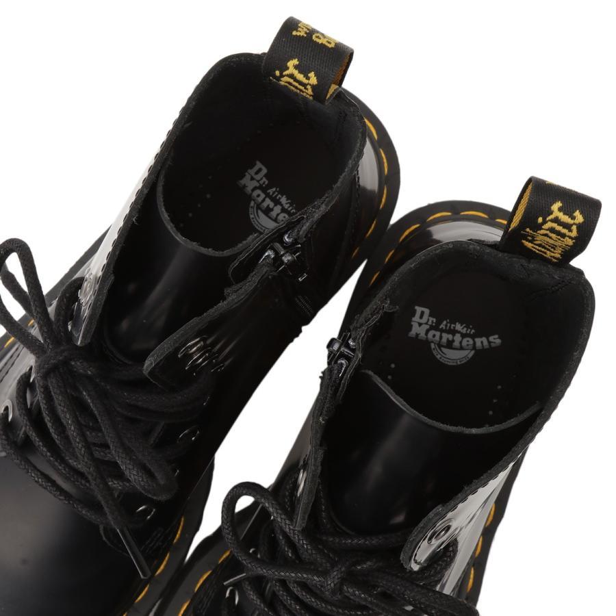 【即納】ドクターマーチン Dr. Martens レディース ブーツ シューズ・靴 Jadon 8 Eye Boots BLACK サイドジップ コンバットブーツ 8ホール|fermart-shoes|06
