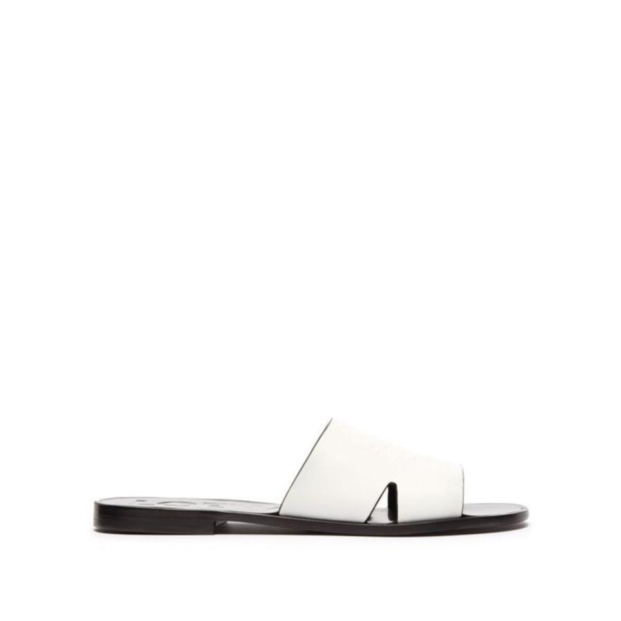 【逸品】 ロエベ Loewe レディース サンダル・ミュール Anagram-embossed シューズ Loewe slides・靴 Anagram-embossed leather slides white, 神戸天然素材:a19b3b23 --- levelprosales.com