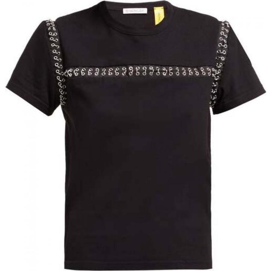 安い割引 モンクレール 6 Moncler Noir t-shirt Kei Ninomiya レディース Tシャツ 6 トップス cotton chain seams cotton t-shirt Black, 宇宙全巻ゴリブックス:e98e3004 --- sonpurmela.online