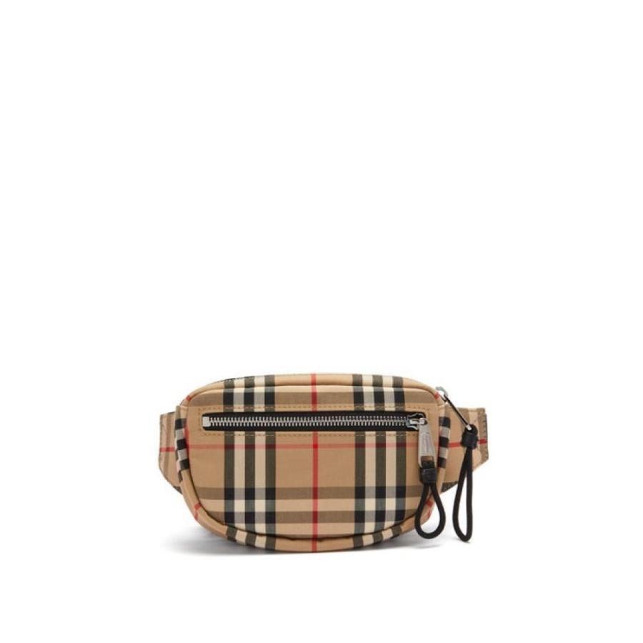 【爆売り!】 バーバリー Burberry メンズ ボディバッグ・ウエストポーチ バッグ Vintage-check canvas belt bag beige, ビッツ&ボブ b4d32b4d