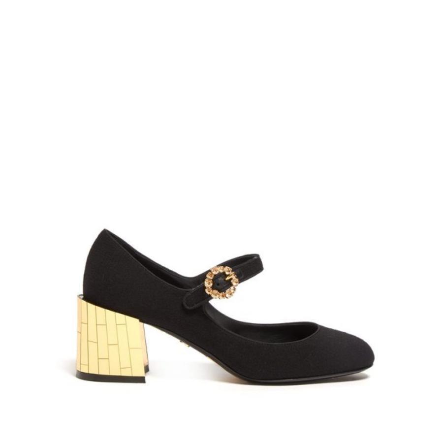 保障できる ドルチェ&ガッバーナ black Dolce & Gabbana レディース パンプス & シューズ・靴 Mirrored シューズ・靴 crystal-embellished Mary-Jane pumps black, JEUNEEN LIGNE:663938f9 --- chizeng.com