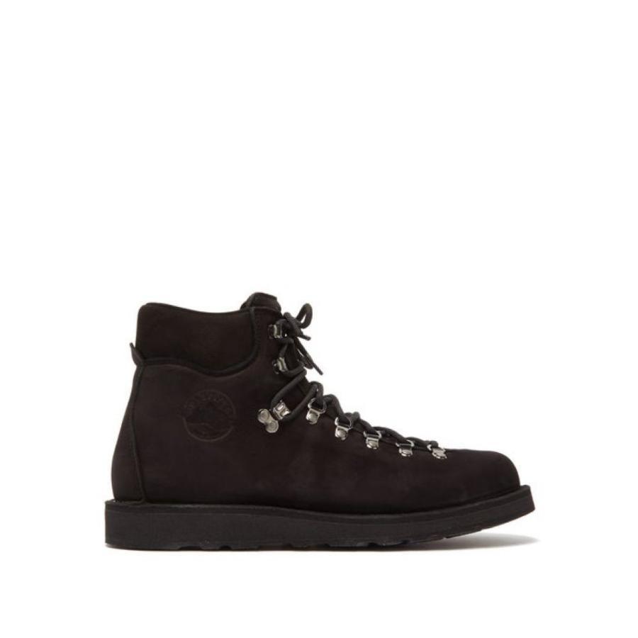 ディエッメ Diemme メンズ シューズ・靴 ハイキング・登山 Roccia Vet tread-sole aqua nubuck hiking boots Black