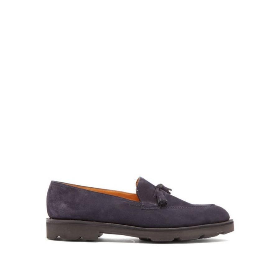 爆売り! ジョンロブ John シューズ・靴 Lobb メンズ John ローファー シューズ・靴 loafer Callington suede loafer navy, チェリーホップ:1b055196 --- levelprosales.com