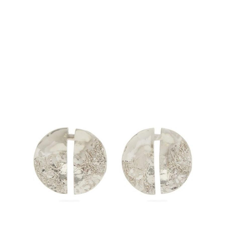 最新のデザイン ミショー Misho Misho レディース イヤリング・ピアス ジュエリー・アクセサリー earrings hammered Split hammered silver earrings Silver, アップリカー 南海:b4baa536 --- airmodconsu.dominiotemporario.com