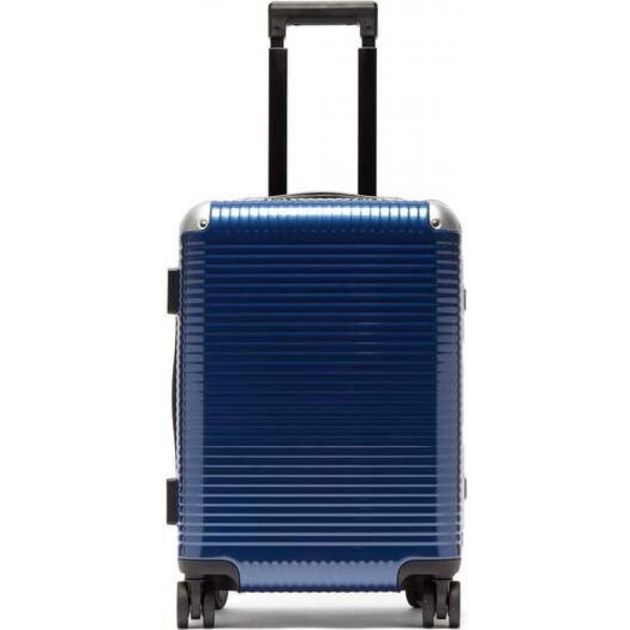 ファブリカ ペレッテリエ ミラノ Fabbrica Pelletterie Milano レディース スーツケース・キャリーバッグ バッグ bank light spinner 53 cabin suitcase Blue